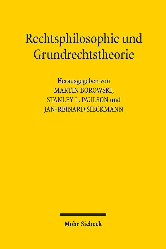 Abbildung von Borowski / Paulson / Sieckmann   Rechtsphilosophie und Grundrechtstheorie   2018
