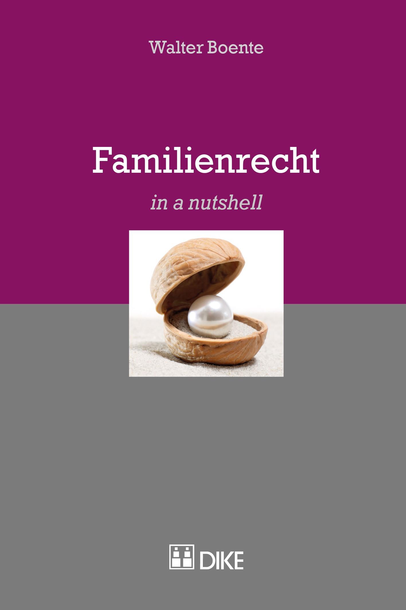 Abbildung von Boente   Familienrecht   2017