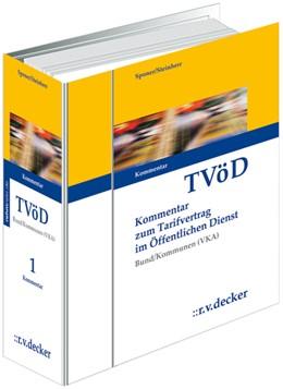 Abbildung von Sponer / Steinherr   Tarifvertrag für den öffentlichen Dienst Bund/Kommunen (VKA) • ohne Aktualisierungsservice   1. Auflage   2020   beck-shop.de