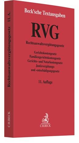 Abbildung von RVG | 11. Auflage | 2018 | beck-shop.de