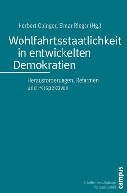Abbildung von Obinger / Rieger | Wohlfahrtsstaatlichkeit in entwickelten Demokratien | 2009 | Herausforderungen, Reformen un... | 20