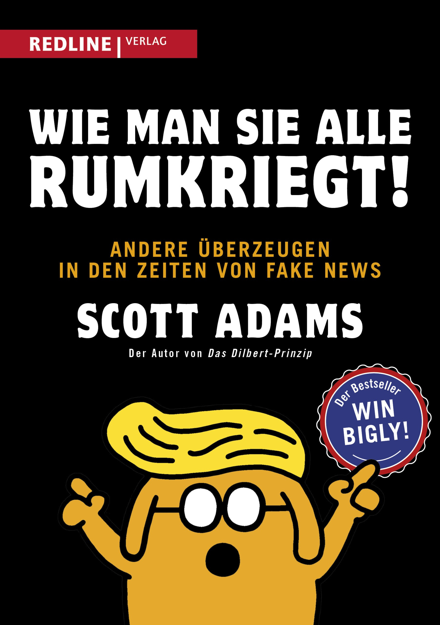 Wie man sie alle rumkriegt! | Adams, 2018 | Buch (Cover)