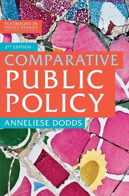 Abbildung von Dodds   Comparative Public Policy   2nd ed. 2018   2018