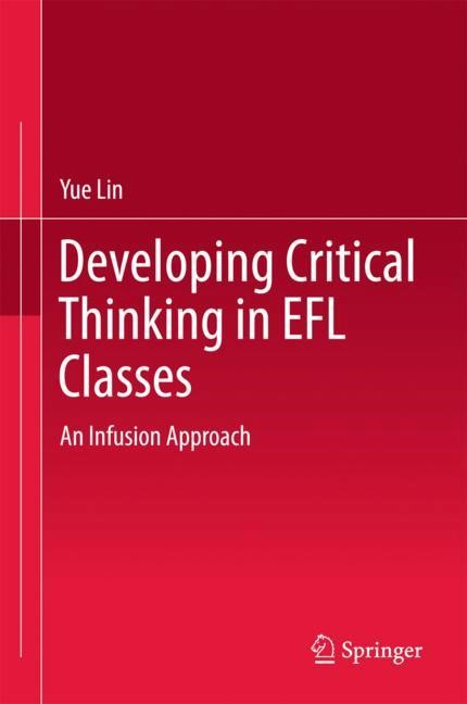 Developing Critical Thinking in EFL Classes | Lin | 1st ed. 2018, 2017 | Buch (Cover)