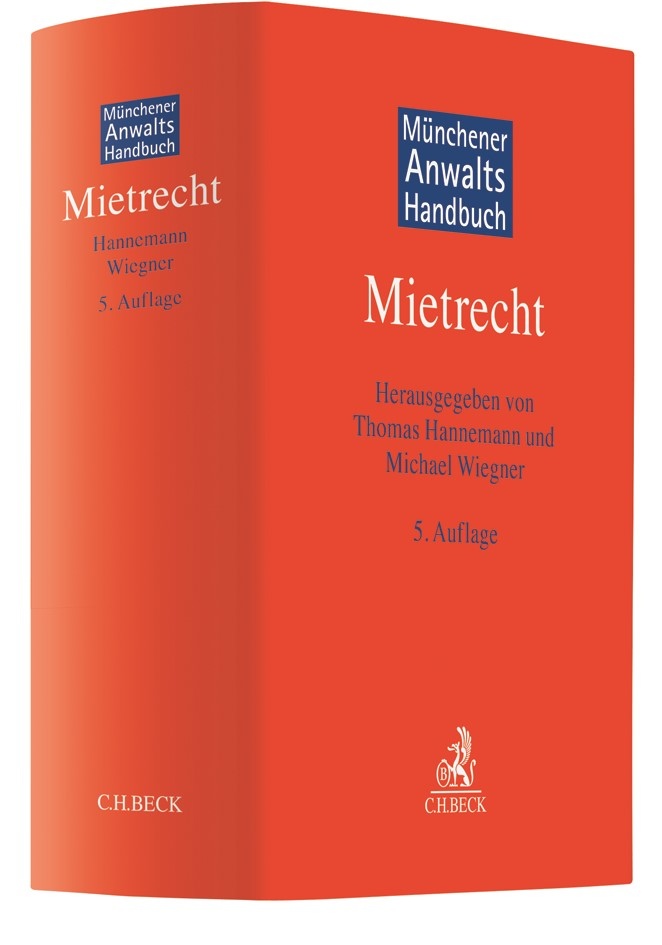 Münchener Anwaltshandbuch Mietrecht | 5. Auflage, 2019 | Buch (Cover)