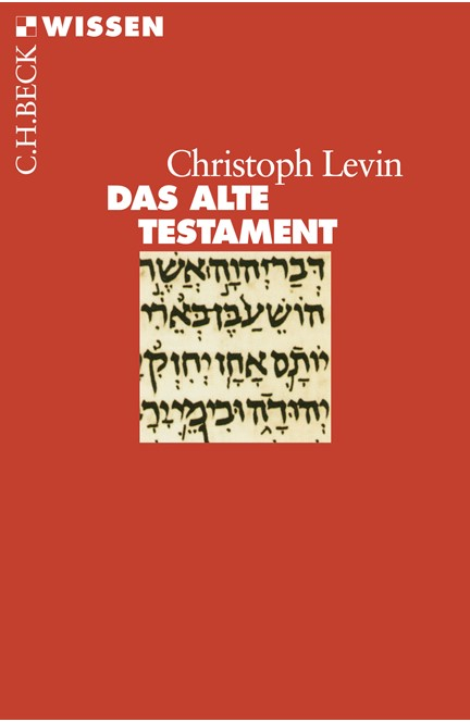 Cover: Christoph Levin, Das Alte Testament