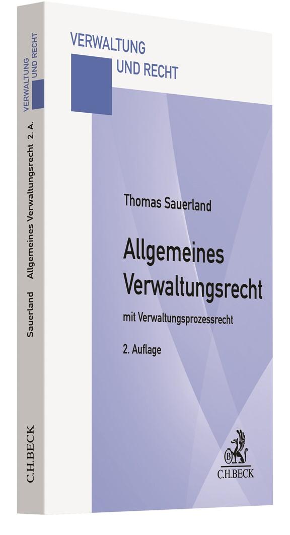 Allgemeines Verwaltungsrecht | Sauerland | 2. Auflage, 2019 | Buch (Cover)