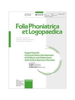 Abbildung von Gillon / Hyter / Westerveld | Supporting the Communication Development of Children and Adolescents with Autism Spectrum Disorder | 2018 | Special Topic Issue: Folia Pho...
