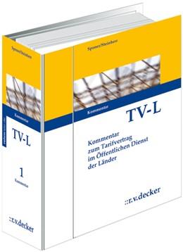 Abbildung von Sponer / Steinherr   Tarifvertrag für den öffentlichen Dienst der Länder (TV-L) • ohne Aktualisierungsservice   1. Auflage   2021   beck-shop.de