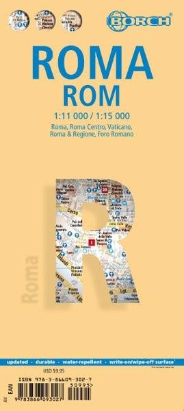 Rom / Roma 1 : 11 000 / 1 : 15 000 | 14. Auflage, 2017 (Cover)
