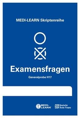Abbildung von MEDI-LEARN Verlag GbR | MEDI-LEARN Skriptenreihe: Generalproben H17 | 2018 | Physikum