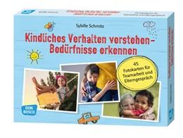 Abbildung von Schmitz   Kindliches Verhalten verstehen - Bedürfnisse erkennen   2018   45 Fotokarten für Teamarbeit u...