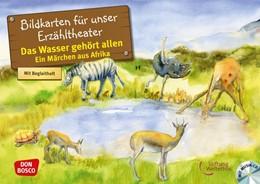 Abbildung von Stiftung Weltethos | Das Wasser gehört allen. Ein Märchen aus Afrika, Kamishibai Bildkartenset. | 1. Auflage | 2018 | beck-shop.de