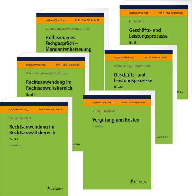 ReNo Prüfungsvorbereitung • Set | Jungbauer / Dives (Hrsg.) | 2., bearbeitete Auflage, 2018 | Buch (Cover)