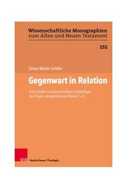 Abbildung von Schäfer | Gegenwart in Relation | 2018 | Eine Studie zur präsentischen ...