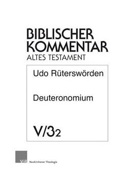 Abbildung von Rüterswörden | Deuteronomium | 1. Auflage | 2018 | beck-shop.de