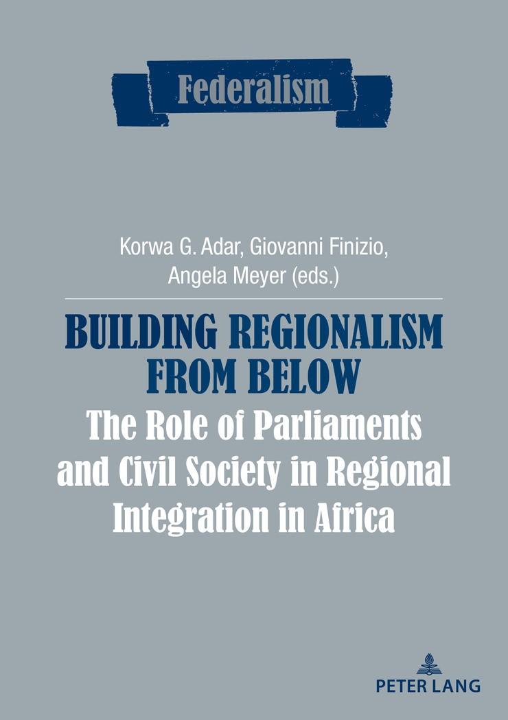 Building Regionalism from Below | Adar / Finizio / Meyer, 2017 | Buch (Cover)