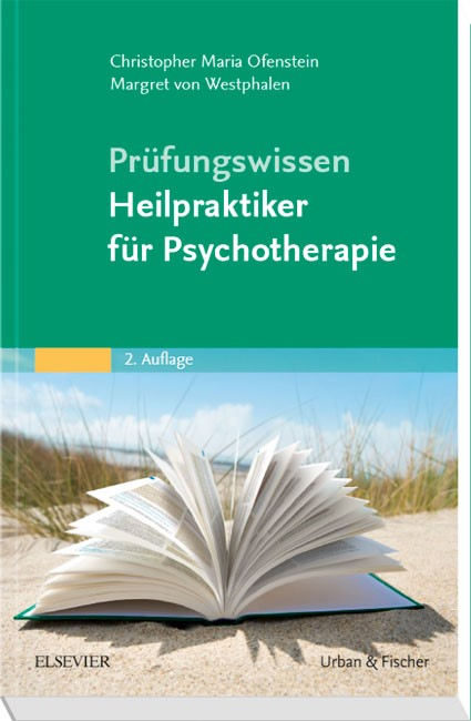 Prüfungswissen Heilpraktiker für Psychotherapie | Ofenstein / Westphalen | 2. Auflage, 2018 | Buch (Cover)