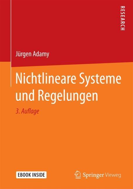 Nichtlineare Systeme und Regelungen | Adamy | 3., bearb. u. erw. Aufl. 2018, 2018 | Buch (Cover)