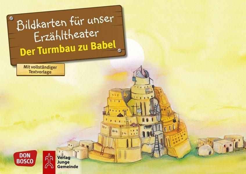 Der Turmbau zu Babel. Kamishibai Bildkartenset. | Brandt / Nommensen, 2017 | Buch (Cover)