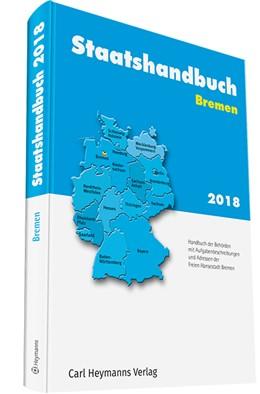 Abbildung von Staatshandbuch Bremen 2018   1. Auflage   2018   beck-shop.de