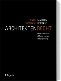 Abbildung von Mattern / Bruinier   Praxishandbuch Architektenrecht   1. Auflage   2020   beck-shop.de