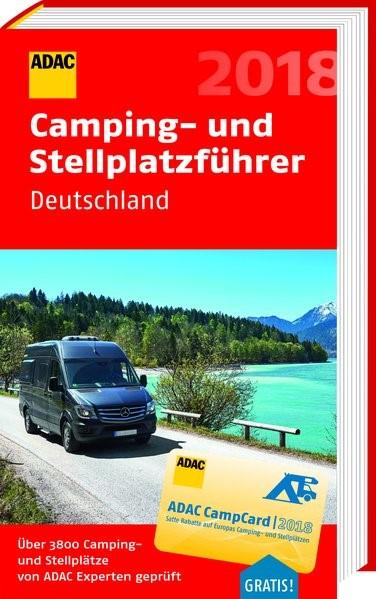 ADAC Camping- und Stellplatzführer Deutschland 2018 | 2018, 2018 | Buch (Cover)