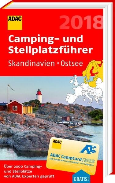 ADAC Camping- und Stellplatzführer Skandinavien, Ostsee 2018 | 2018, 2018 | Buch (Cover)