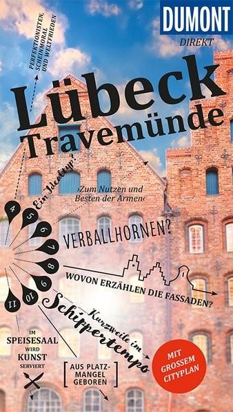 DuMont direkt Reiseführer Lübeck Travemünde   Adams   1. Auflage, 2018   Buch (Cover)