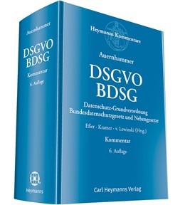 Abbildung von Eßer / Kramer / Lewinski (Hrsg.) | DSGVO/BDSG | 6. Auflage | 2018 | Datenschutz-Grundverordnung/Bu...