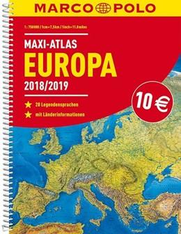 Abbildung von MARCO POLO Maxi-Atlas Europa 2018/2019 | 3. Auflage | 2018