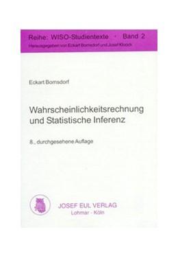 Abbildung von Bomsdorf   Wahrscheinlichkeitsrechnung und Statistische Inferenz   8., durchges. Aufl.   2002   2