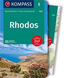 Abbildung von Will   KOMPASS Wanderführer Rhodos   1. Auflage   2018   Wanderführer mit Extra-Tourenk...