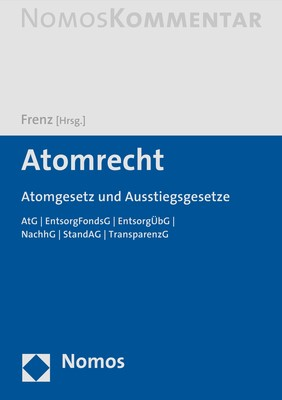 Abbildung von Frenz (Hrsg.) | Atomrecht | 2019