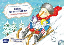 Abbildung von Gulden / Scheer   Juchhe, der erste Schnee. Eine Winterklanggeschichte, m. Audio-CD   1. Auflage   2016   beck-shop.de