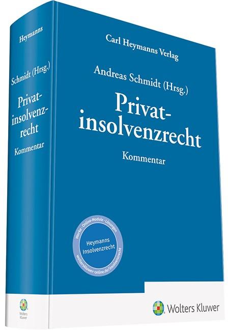 Privatinsolvenzrecht | Schmidt (Hrsg.), 2018 | Buch (Cover)