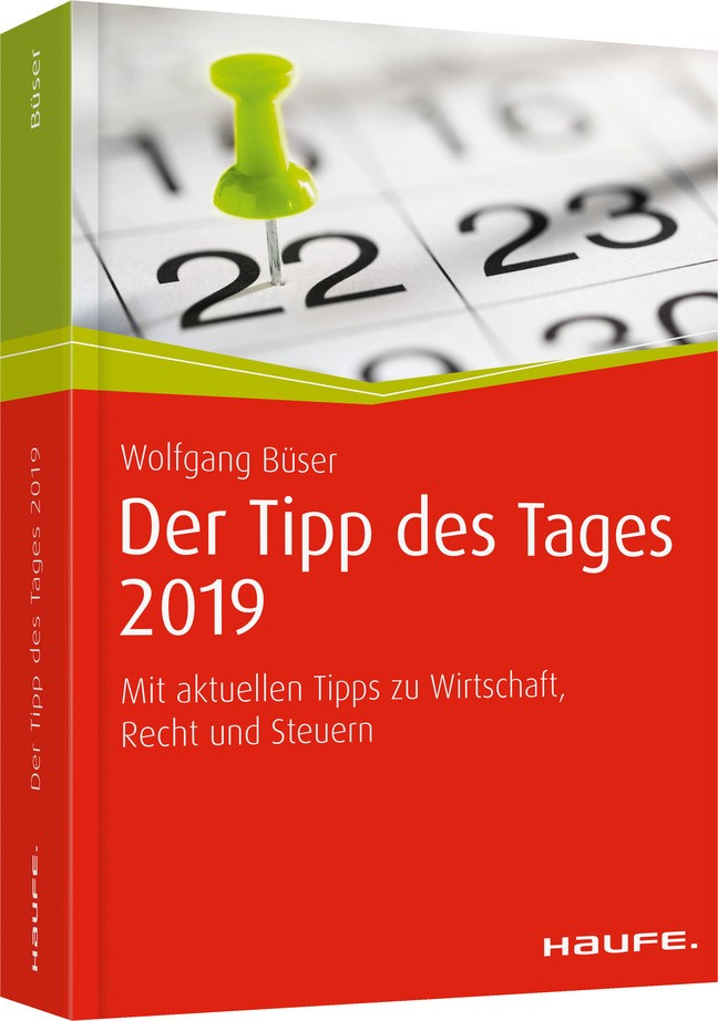 Tipp des Tages 2019, 2018 | Buch (Cover)