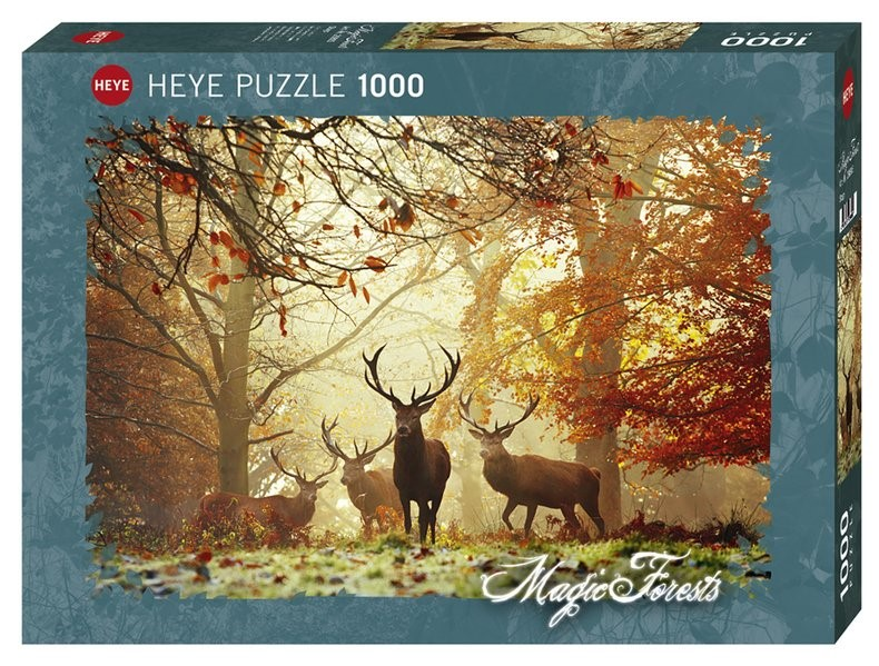 Stags Puzzle 1000 Teile | Aberi, 2017 (Cover)