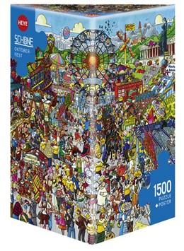 Abbildung von Schöne | Oktoberfest Puzzle 1500 Teile | 2017