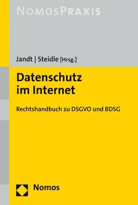 Datenschutz im Internet   Jandt / Steidle (Hrsg.), 2018   Buch (Cover)
