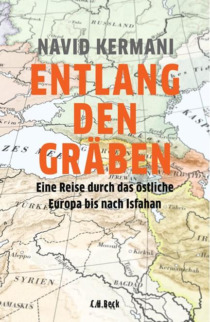 Cover: Navid Kermani, Entlang den Gräben