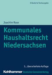 kommunales haushaltsrecht niedersachsen rose 3 berarbeitete auflage 2018 buch - Bewerbung Referendariat Niedersachsen