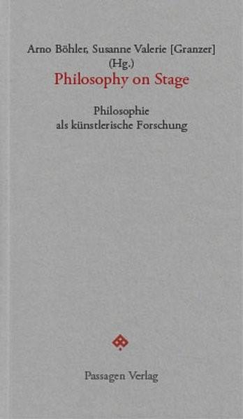 Abbildung von Böhler / Granzer | Philosophy on Stage | 2018