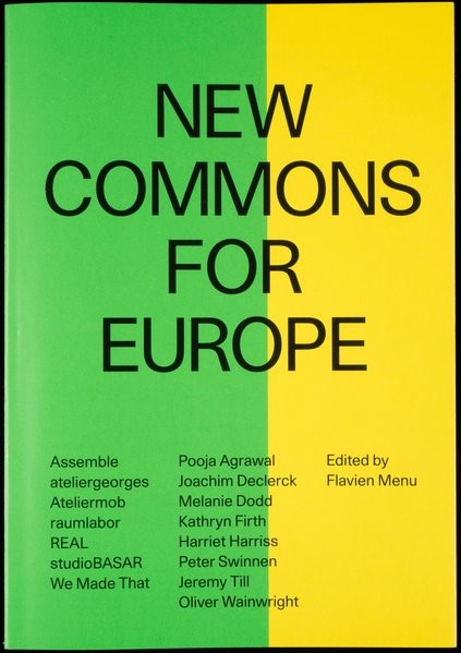 Abbildung von Menu | New Commons for Europe | 2018