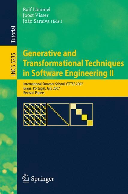 Generative and Transformational Techniques in Software Engineering II | Lämmel / Visser / Saraiva, 2008 | Buch (Cover)