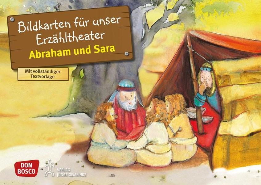 Abraham und Sara. Kamishibai Bildkartenset. | Brandt / Nommensen | Nachdruck, 2018 | Buch (Cover)
