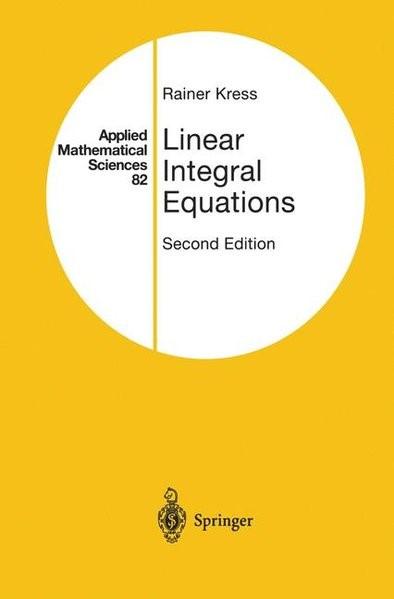Abbildung von Kress | Linear Integral Equations | 1999