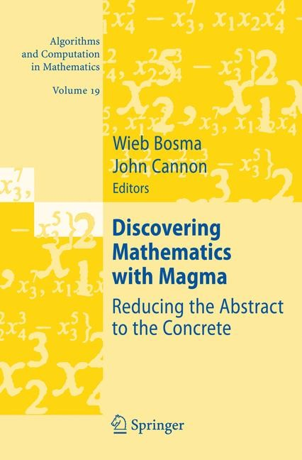 Discovering Mathematics with Magma | Bosma / Cannon, 2006 | Buch (Cover)