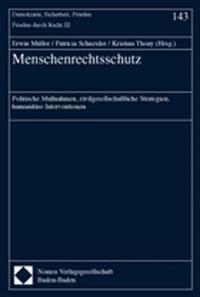 Menschenrechtsschutz   Müller / Schneider / Thony, 2002   Buch (Cover)