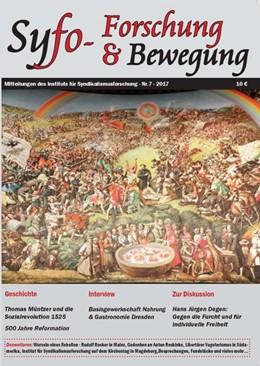 Abbildung von Döhring / Veith / Faust | Syfo - Forschung & Bewegung. Nr. 07 - 2017 | 2017 | Mitteilungsblatt des Instituts...